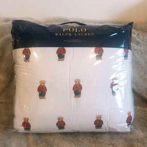 New Polo Boy Bear Twin Comforter set